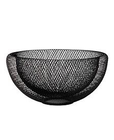 Double Mesh Bowl Large - Black