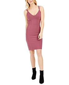 Strappy Bodycon Sweater Dress, Created For Macy's