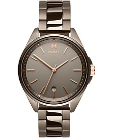 Women's Coronada Taupe Stainless Steel Bracelet Watch 36mm