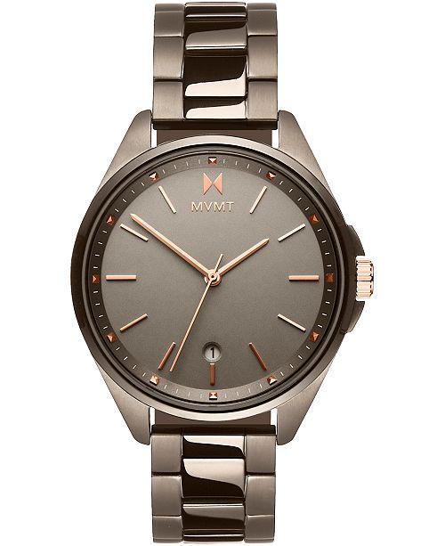 MVMT Women's Coronada Taupe Stainless Steel Bracelet Watch 36mm
