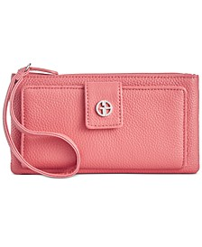 Softy Grab & Go Leather Wristlet, Created for Macy's