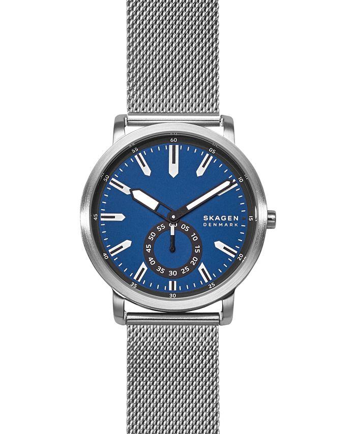 Skagen - Men's Colden Stainless Steel Mesh Bracelet Watch 40mm