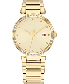 Women's Gold-Tone Stainless Steel Bracelet Watch 32mm, Created for Macy's