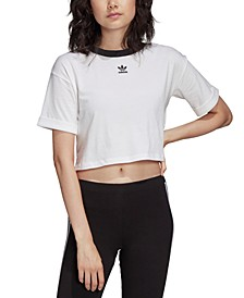 Women's Cotton Cropped T-Shirt