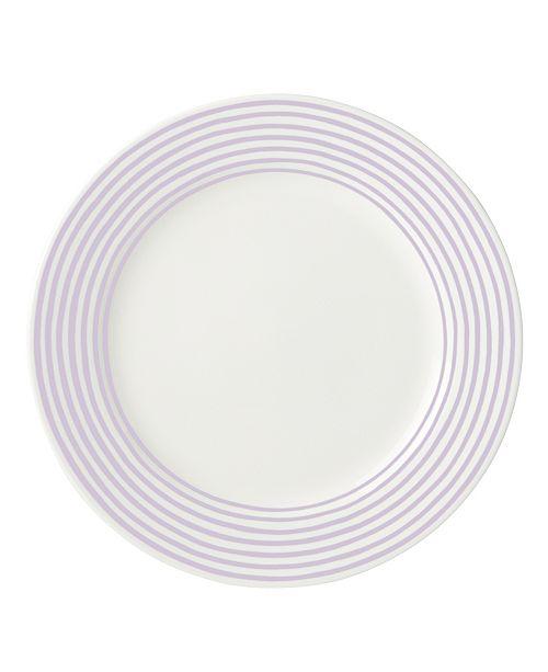 kate spade new york Charlotte Street Lilac East Dinner Plate