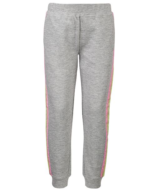 Ideology Toddler Girls Pastel-Stripe Jogger Pants, Created For Macy's