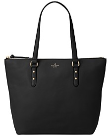 Larchmont Avenue Leather Penny Large Tote