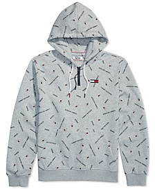 Men's Tilden Logo Hoodie with Extended Zipper Pull
