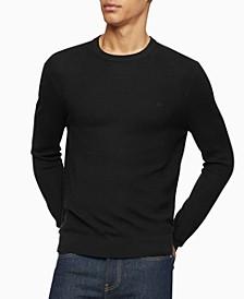 Calvin Klein Men's Merino Crew-Neck Sweater