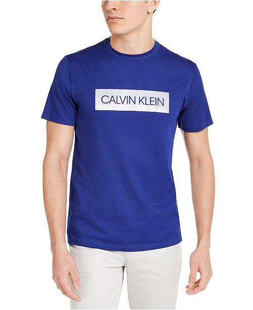 Calvin Klein Men's CK Move 365 Block Logo T-Shirt