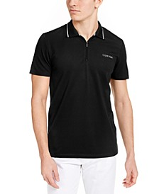 Men's Move 365 Zip Polo Shirt