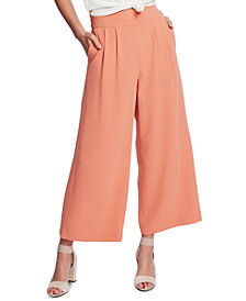 1.STATE Cropped Wide-Leg Pants