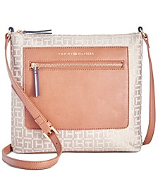 Lea Jacquard North South Crossbody