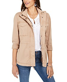 Twill Jacket, Created for Macy's