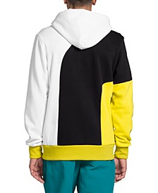 Men's Luminous Flux Colorblocked Fleece Hoodie