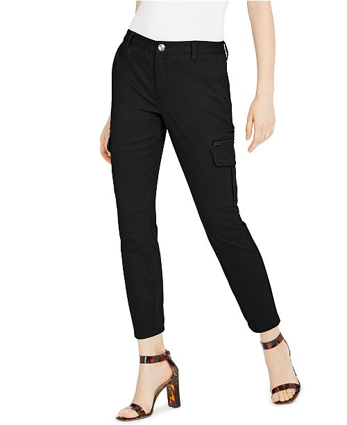 INC International Concepts INC Slim-Leg Cargo Utility Pants, Created for Macy's
