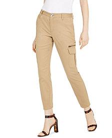 INC Slim-Leg Cargo Utility Pants, Created for Macy's
