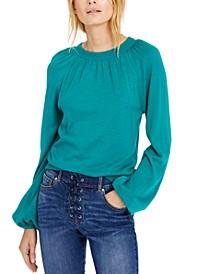 INC Balloon-Sleeve Sweater, Created for Macy's