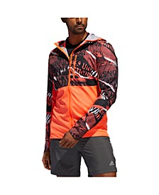 Men's Own The Run Colorblocked Hooded Jacket