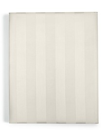 "1.5"" Stripe Twin Shallow Fitted Sheet, 550 Thread Count 100% Supima Cotton, Created for Macy's"