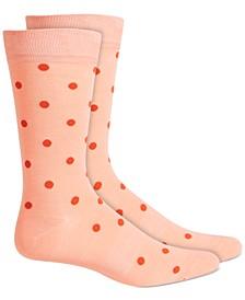 Men's Polka-Dot Socks, Created for Macy's