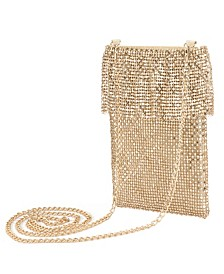 Kensley Ruffle Chainmail Crossbody Bag