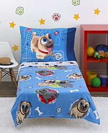 Puppy Dog Pals 4-Piece Toddler Bedding Set