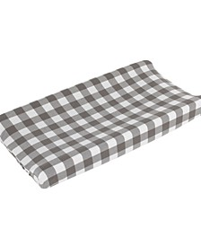 Buffalo Check Changing Pad Cover