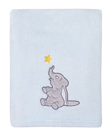 Disney Dumbo Fleece Baby Blanket with Applique