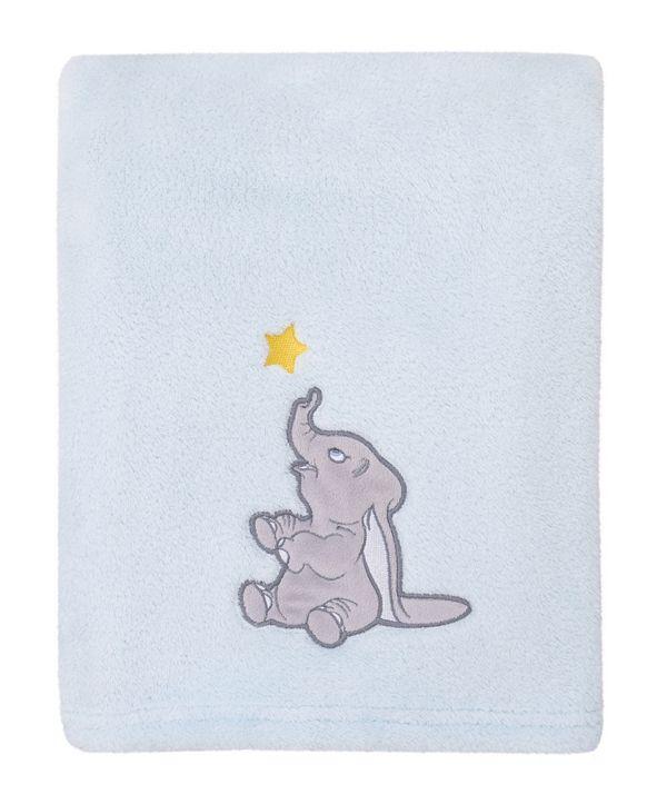Disney Disney Dumbo Fleece Baby Blanket with Applique