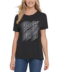 Logo Print Crewneck T-Shirt