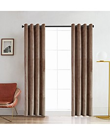"Regency It Velvet Room Darkening Curtain, 84"" L x 52"" W"