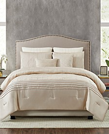 5th Avenue Lux Noelle 7-Piece Queen Comforter Set
