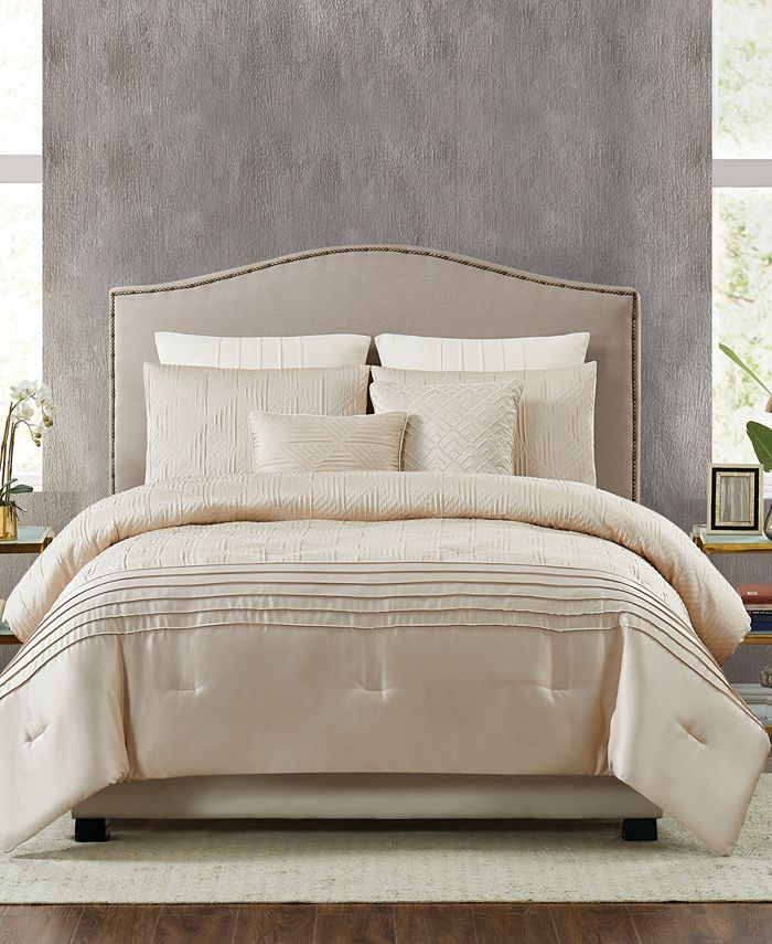 Pem America - 5th Avenue Lux Noelle 7-Piece Queen Comforter Set