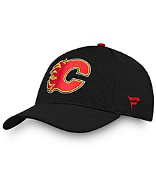 Calgary Flames Authentic Pro Rinkside Flex Cap
