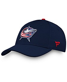 Columbus Blue Jackets Authentic Pro Rinkside Flex Cap