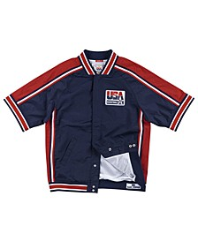 Men's Magic Johnson Team USA Authentic Warm Up Jacket