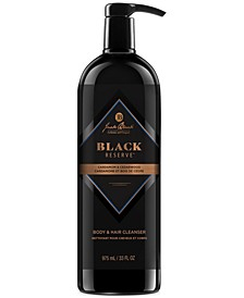 Black Reserve Body & Hair Cleanser, 33-oz.