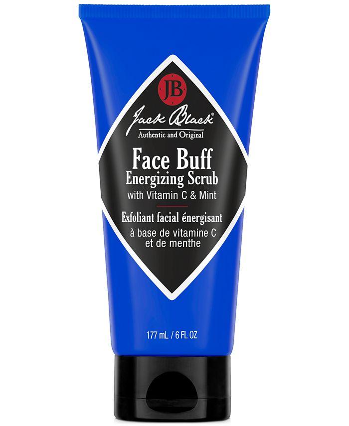 Jack Black - Face Buff Energizing Scrub with Vitamin C & Menthol, 6 oz