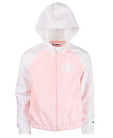 Champion Little Girls Colorblock Windbreaker
