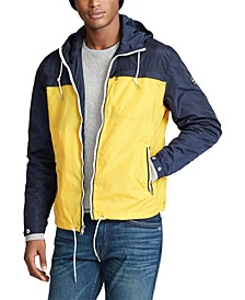 Men's Packable Color-Blocked Anorak