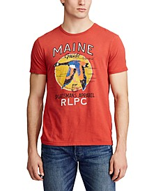 Men's Custom Slim-Fit Graphic T-Shirt