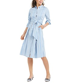 Striped Shirtdress, Created for Macy's