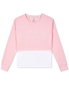 Big Girls Colorblocked Sweatshirt