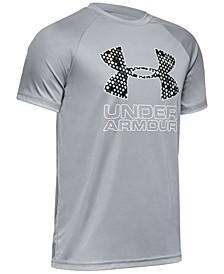 Big Boys Logo-Print UA Tech™ Training T-Shirt