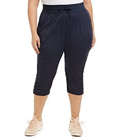 Womens Plus Size Aphrodite Motion Capri Pants