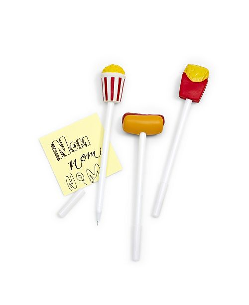 Celebrate Shop Two's Company Refill for Fast Food 36 Pc Squeeze Topper Pen