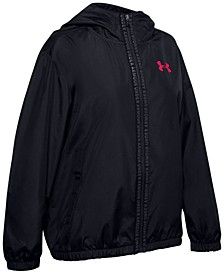 Big Girls Storm Tech Water Resistant Hooded Jacket