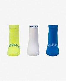 Sport Women's 3-Pk. Microfiber Low-Cut Socks