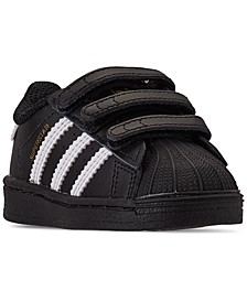 Toddler Boys Superstar Stay-Put Closure Casual Sneakers from Finish Line